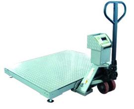 SCS1*1.2米叉車移動式地磅秤