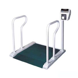 WCS400千克醫院用帶打印輪椅秤
