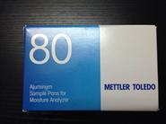 梅特勒HA-D90铝制样品盘,适用于水分测定仪使用(80个/盒)
