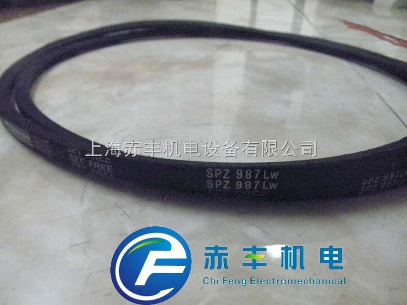 进口SPZ987LW空调机皮带SPZ987LW防油三角带SPZ987LW高速传动带