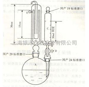 二氧化硫残留量测定仪器装置