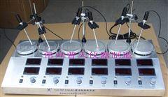 CJJ-931/HJ-6六连磁力加热搅拌器(数显)
