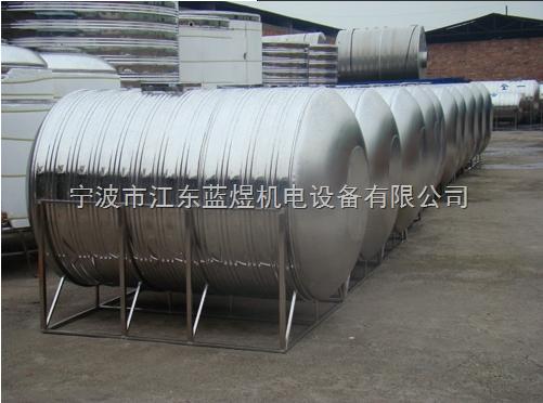 卧式不锈钢保温水箱,10吨卧式不锈钢水箱