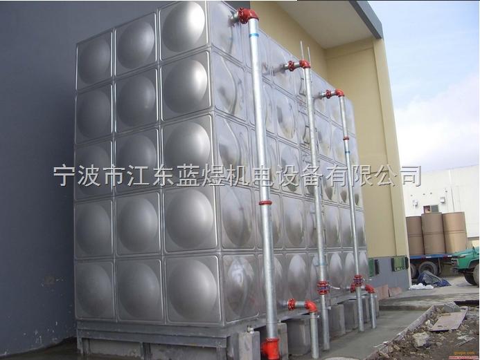 箱泵一体化泵站,消防箱泵一体化水箱,不锈钢保温水箱厂