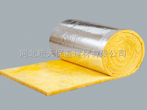 铝箔贴面玻璃棉卷毡防火等级标准河北玻璃棉