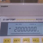 上海舜宇恒平FA2004电子天平万分之一天平