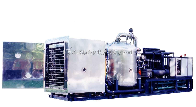 GZL-30大型冷冻干燥机产品介绍: GZL-30双彩色触摸屏 PLC为控制核心,控制系统稳定可靠,操作灵便;可以存储32组冻干工艺数据,每组最多可以设置36段;具有显示冻干曲线及自动记录数据功能;可以实现U盘导出冻干数据。适用于中式和小批量生产。 GZL-30冷冻干燥机,冻干机采用了比泽尔制冷机组,冷凝温度为-70,性能稳定,可靠性高。  GZL-30冷冻干燥机分为普通型和压盖型。 GZL-30大型冷冻干燥机特点: l预冻干燥在原位进行,减少干燥过程的繁琐操作; l硅油作为循环介质,控温精度高,搁板温差