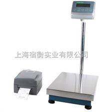 TCS-SH-30A30公斤标签打印电子秤,30kg/2g带不干胶打印电子称接报警灯