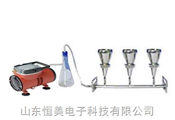 三联不锈钢无菌检查过滤器