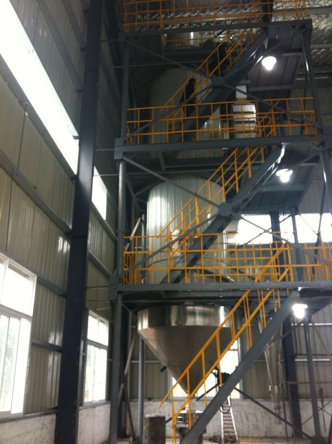 酶制剂蒸发量1000kg/h压力喷雾干燥机