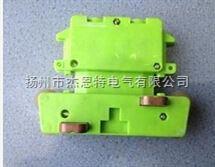 JD4-16/25A四極奉化軸承集電器JD4-16/25,4級滑線集電器配管57*67*16