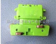 JD4-16/25A四极奉化轴承集电器JD4-16/25,4级滑线集电器配管57*67*16