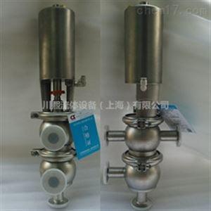 无菌设备用T/L型气动卫生级换向阀