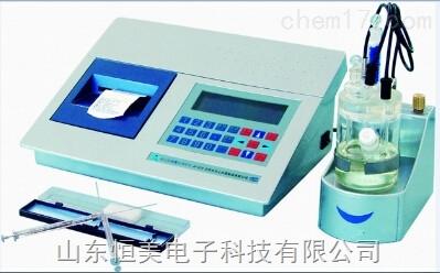 库仑微量水分测定仪