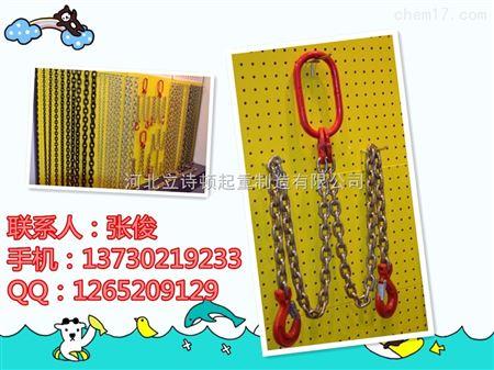 G80一套-起重国标吊棉绳-链条索具箱包-义乌链条索具图片