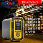 瑞普REAP600ST 六合一烟气分析仪(CO、H2S、O2、Ex、CO2、NOX)