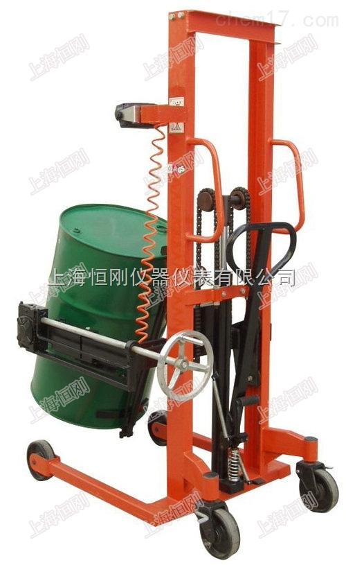 车间用油桶搬运秤,隔爆油桶秤,可360度旋转油桶车秤