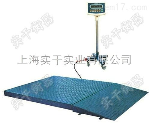 1*1米超低电子地磅带斜坡