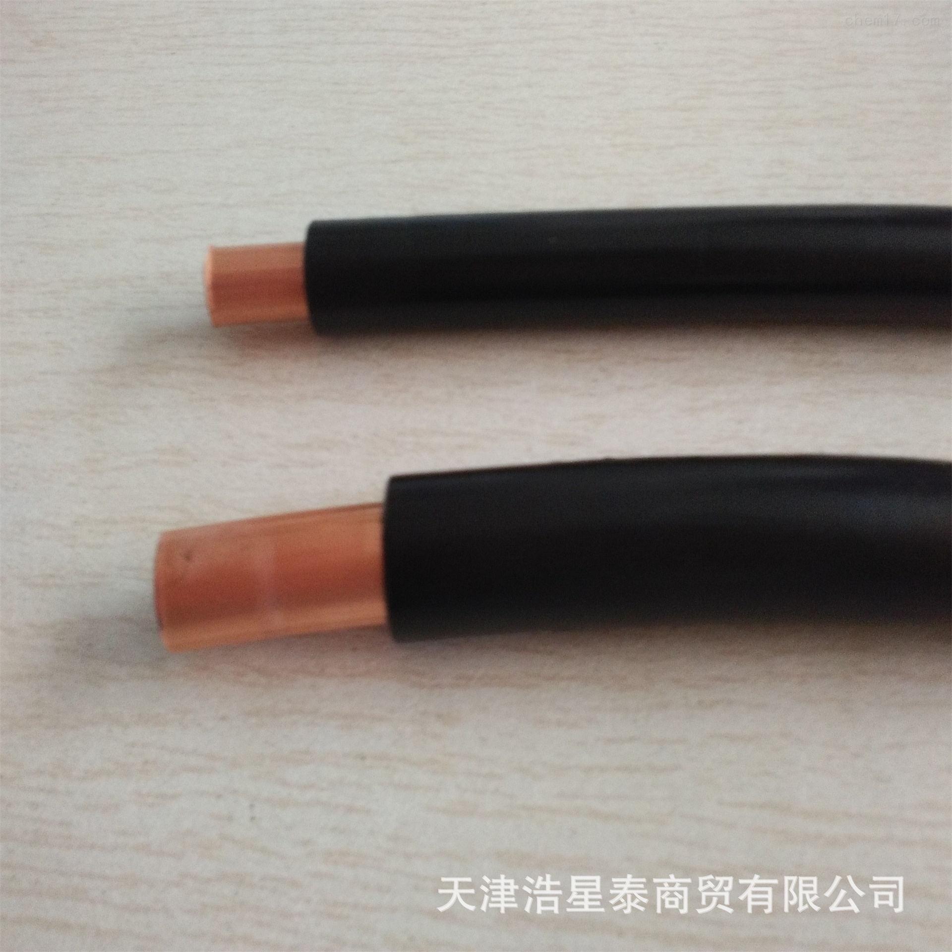 PVC护套紫铜管揽 6*1 8*1 10*1国标PVC包塑紫铜管