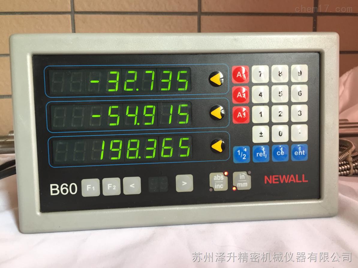 海德汉有限公司_newall B60球栅数显表newall B60-苏州泽升精密机械仪器有限公司