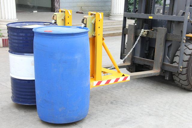 dg-720a塑料桶油桶夹 卸车专用油桶夹子