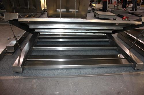 不锈钢电子地磅=由防水接线盒,防水传感器,防水仪表组成,可选碳钢和