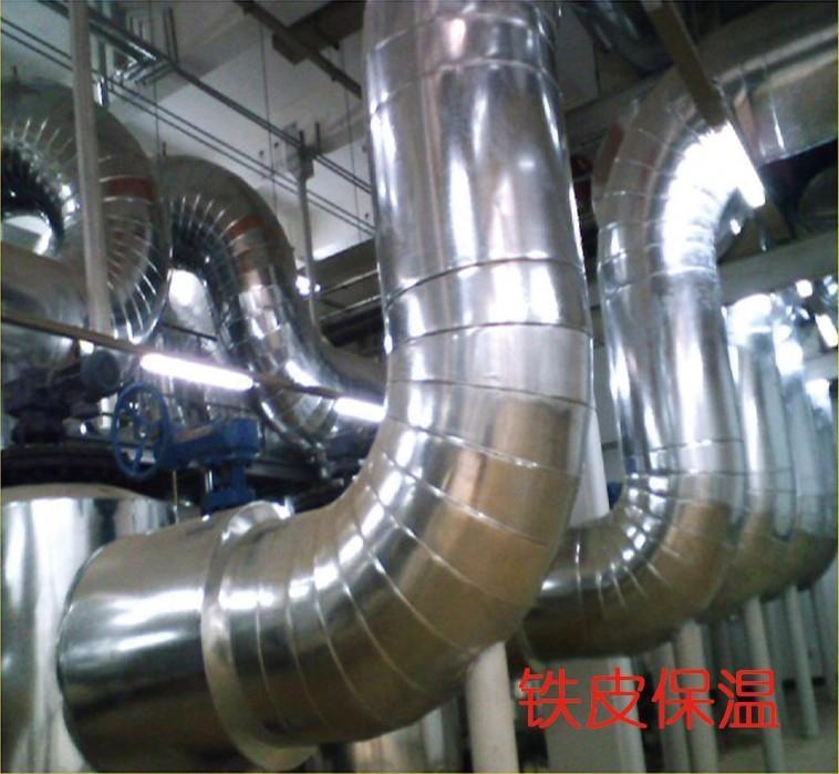 镀锌铁皮管道保温施工