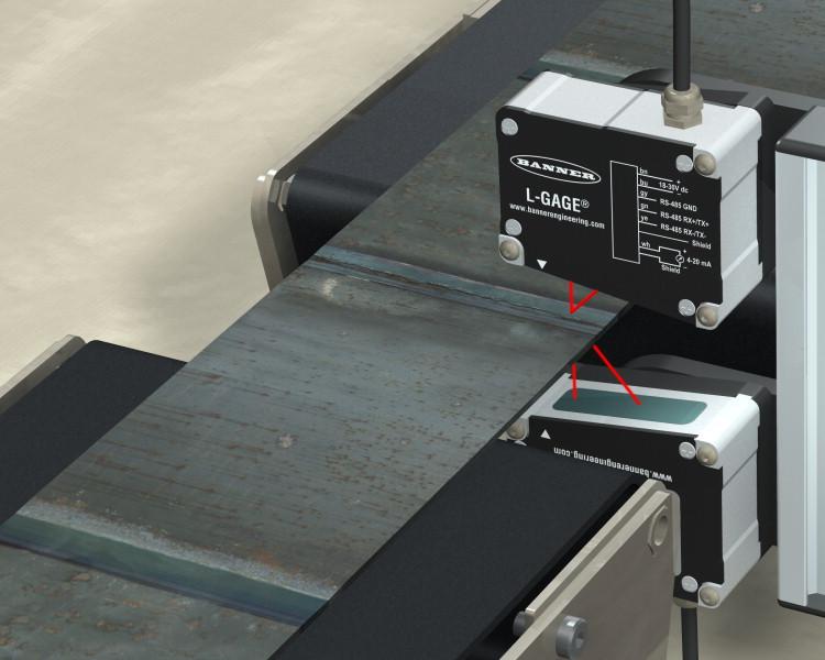产品特点: - 超高精度,坚固外壳 - 一体式的激光位移传感器 - 精密集束的红色激光光癍 - 精确可靠地测量各种目标物,金属,木材,陶瓷,纸张和上漆目标物 - 非接触式激光精确测量用于检测移动目标物,热零件,加工工件,粘性柔软物体 LH系列为一款基于三角测量法的高精度激光位移传感器。可高速,非接触,及可靠地测量各种目标物如:金属,木材,陶瓷, 纸张和上漆目标物。其1024像素CMOS线性光学组件可克服以往PSD激光位移传感器,因为颜色变化和材料不同而过多影响其测量精度。 - 40-20mA模拟量输出 -