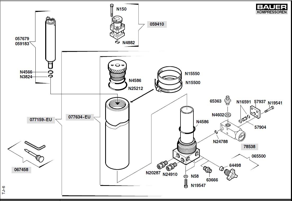 junior100空气压缩机活性炭滤芯