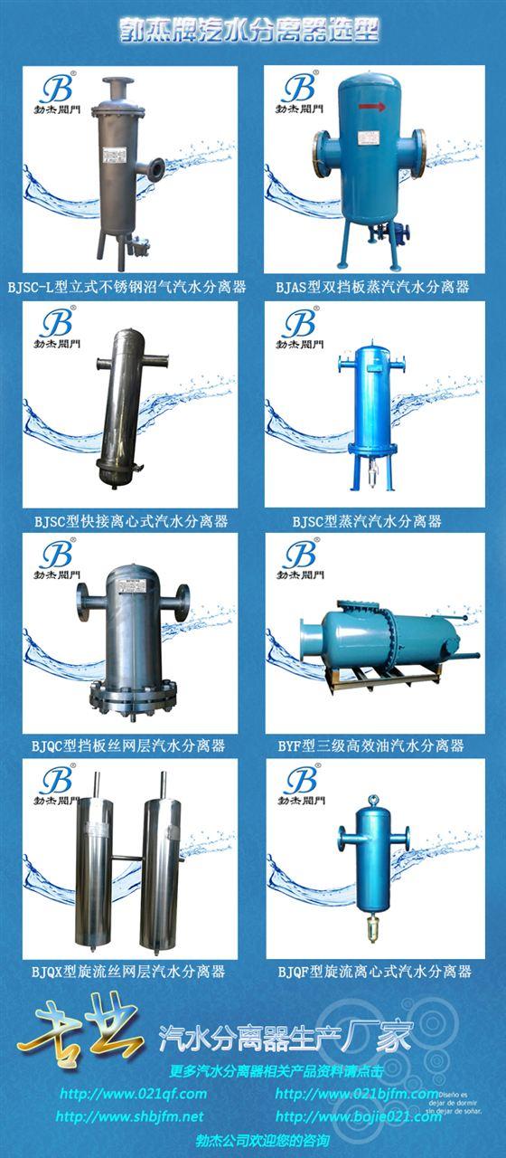 BJQF-2旋流汽水分离器选型