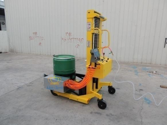 化工行业气动防爆油桶秤