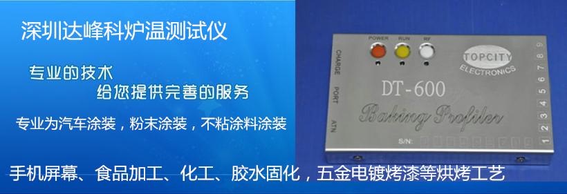 深圳达峰科炉温测试仪