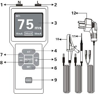 shly8600-漏电保护器测试仪