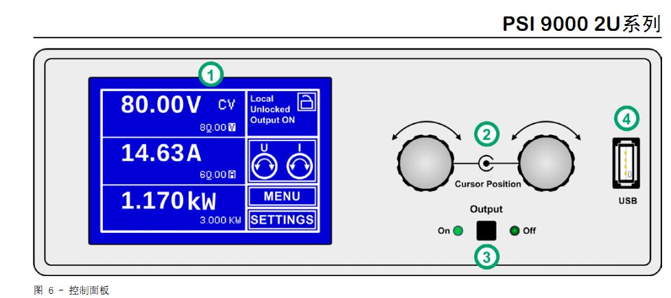 ea-psi 9360-10 2u 德国ea大功率实验室直流电源