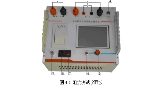 4,转速传感器插座(仅带转速型具备此测量功能) 5,旋转鼠标按键:用来