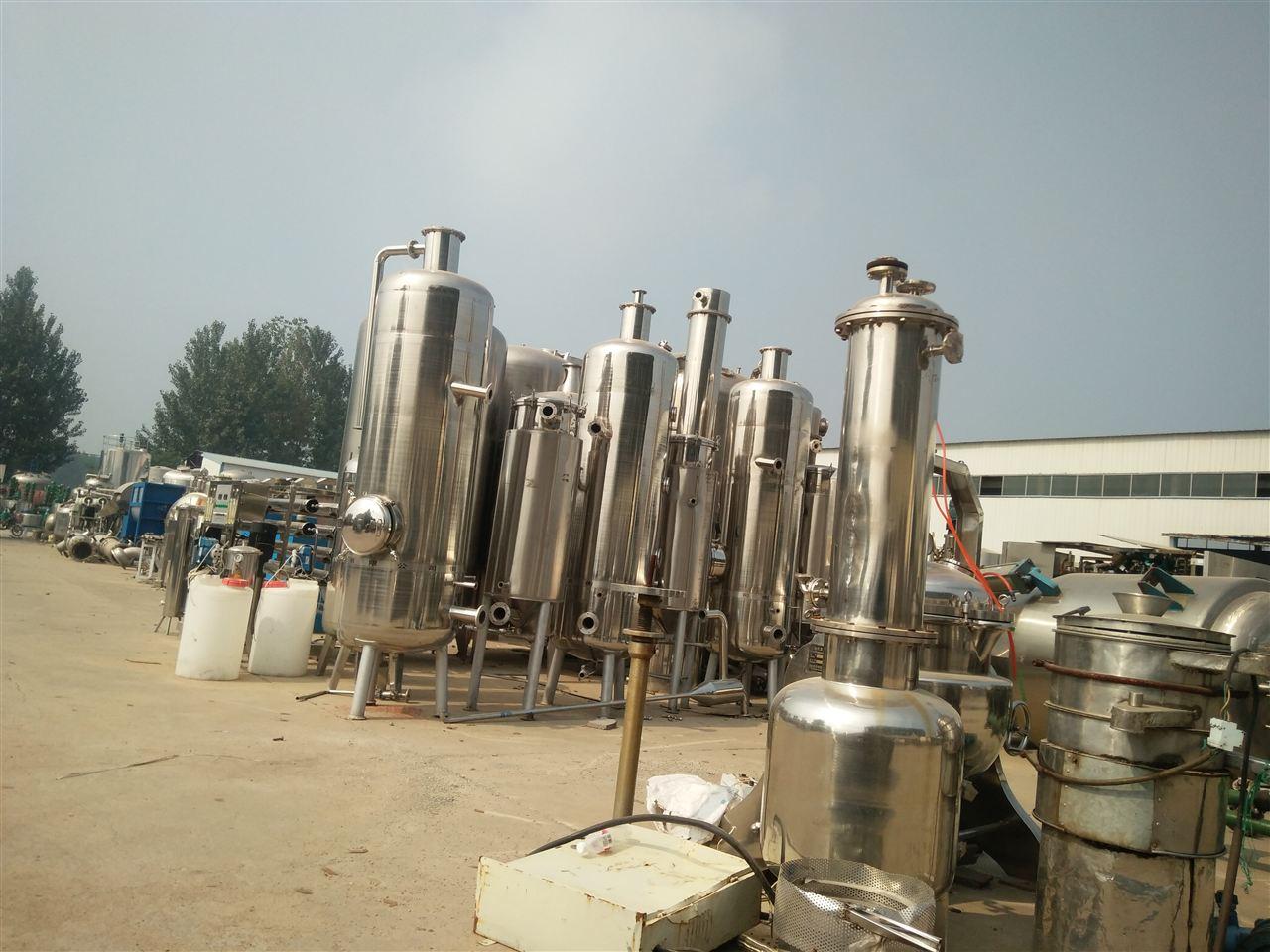 二手三效蒸发器 技术文章 菏泽开发区德行化工设备销售中心