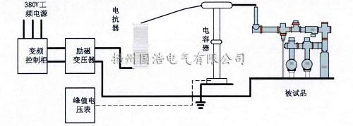 1-1升压实验接线示意图