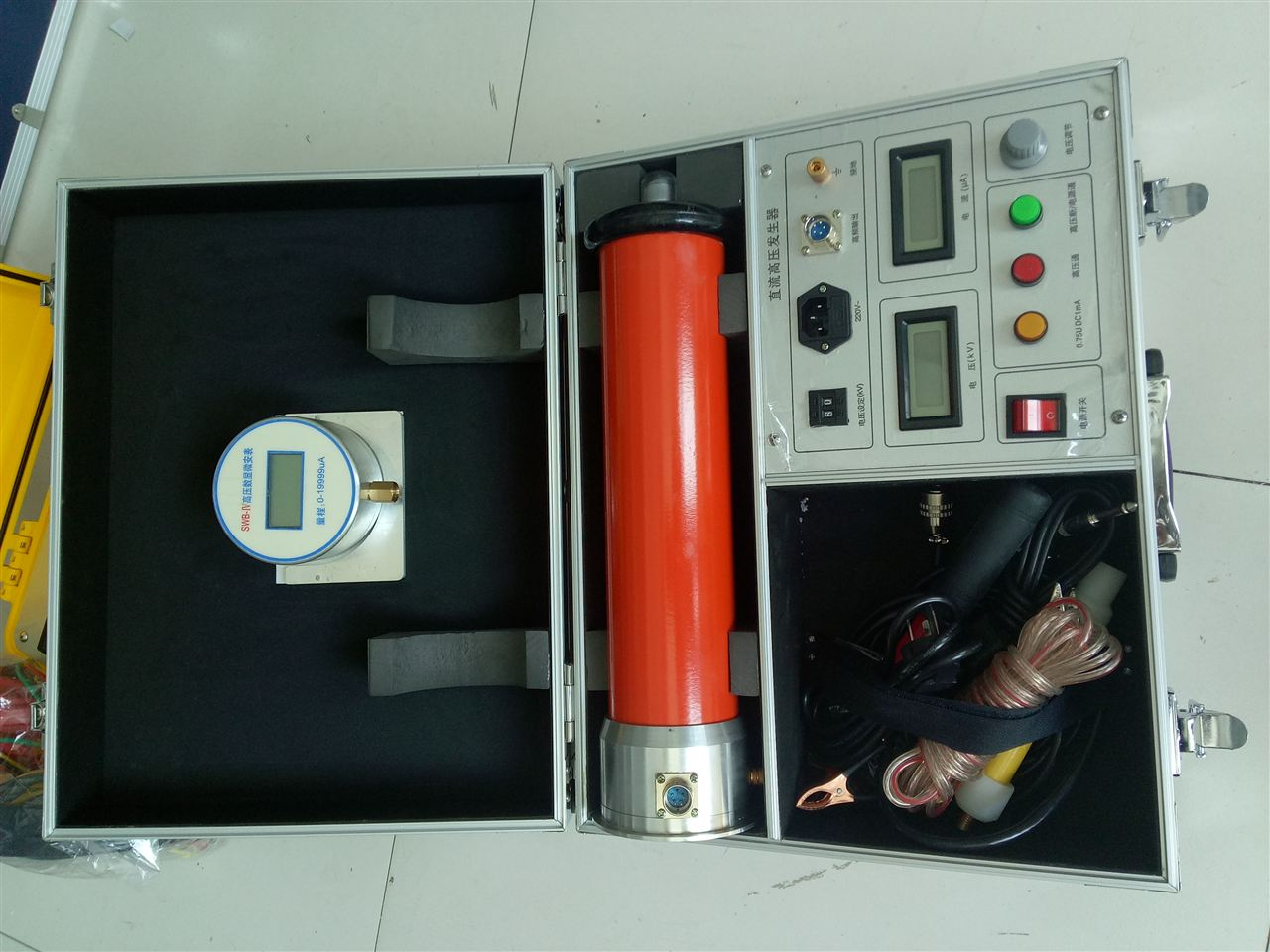 gs系列直流高压发生器采用30—50khz高频倍压电路,率先应用最新pum
