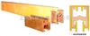 单极排式滑线导电器集电器