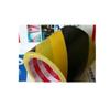 黑黄警示胶带 PVC地板胶 区域划线标识地板胶 黄黑斑马线胶带20y