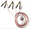 JDX携带式短路接地线 25平方的软铜线